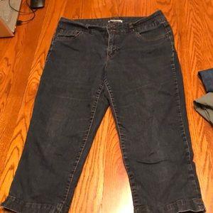 Capris jeans